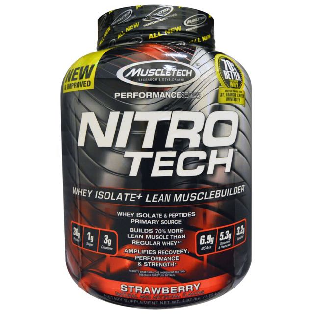 高蛋白 Nitro Muscletech