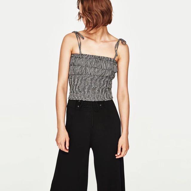 🆕 Zara Inspired Checked Tops