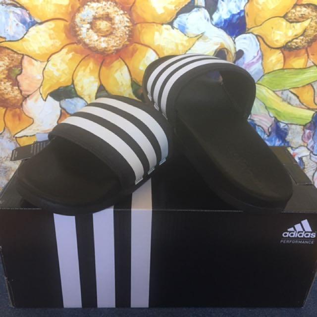 Adidas Black&White Slides