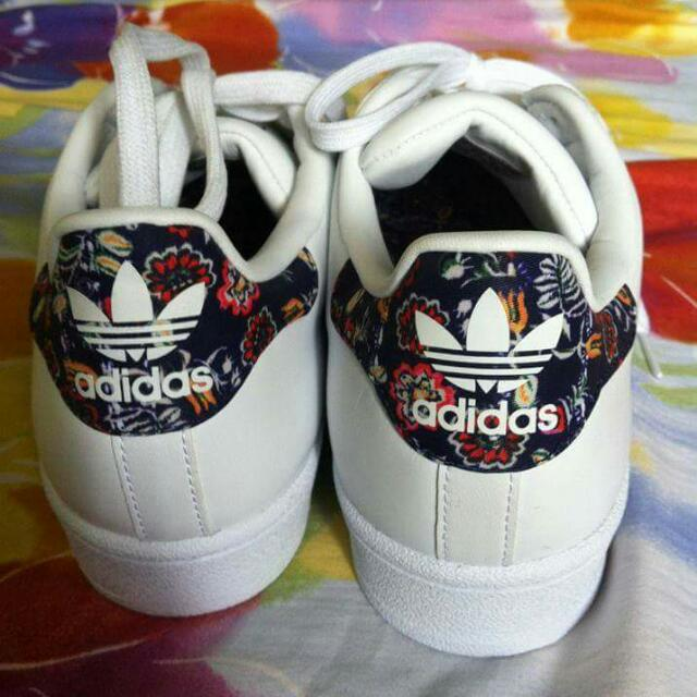 Adidas Superstar With Floral Print Women