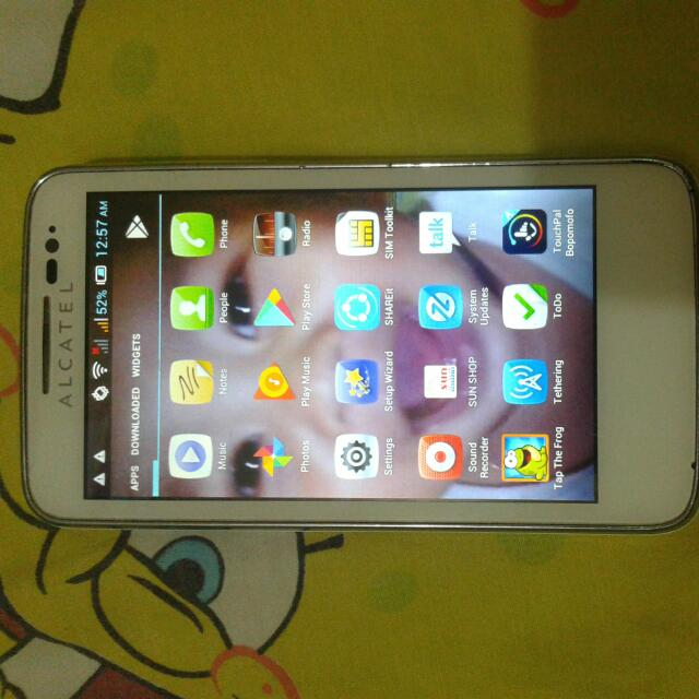 Alcatel Soleil One Touch (Back Up Phone)