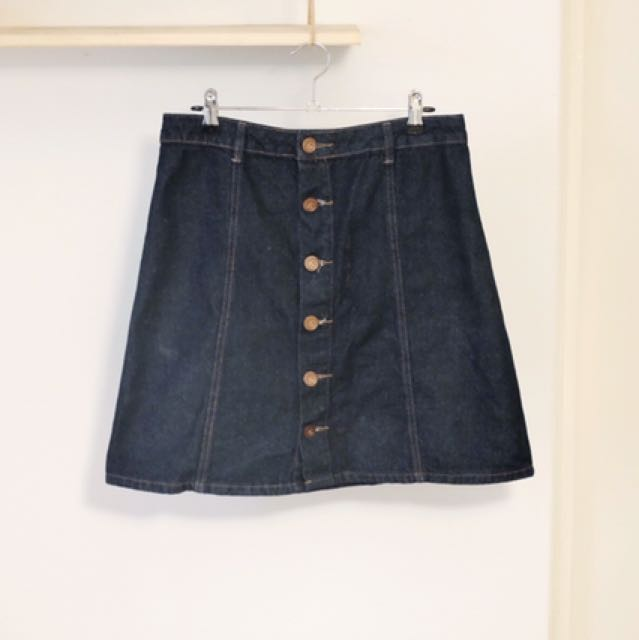 Aline Denim Skirt