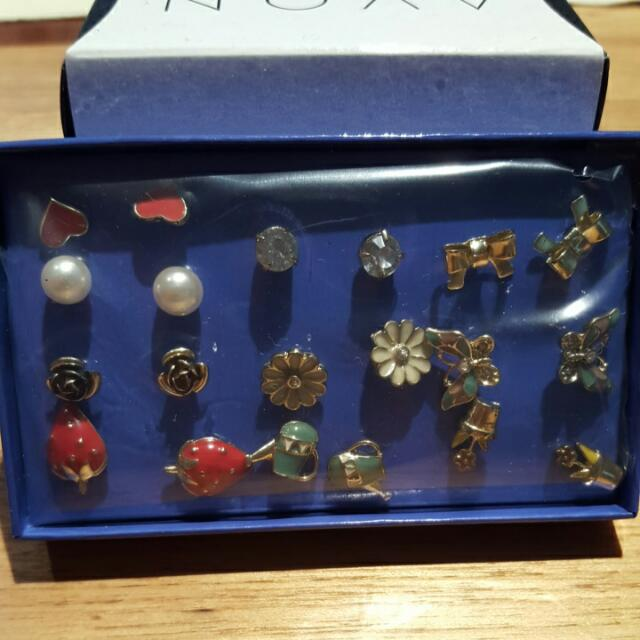 Alissa Set Of 10 Earrings