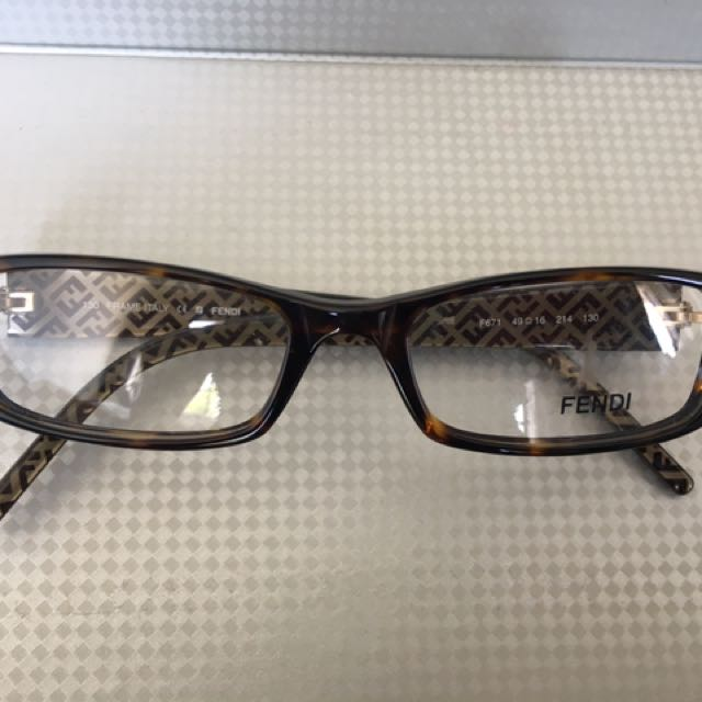 Authentic Fendi Prescription Glasses