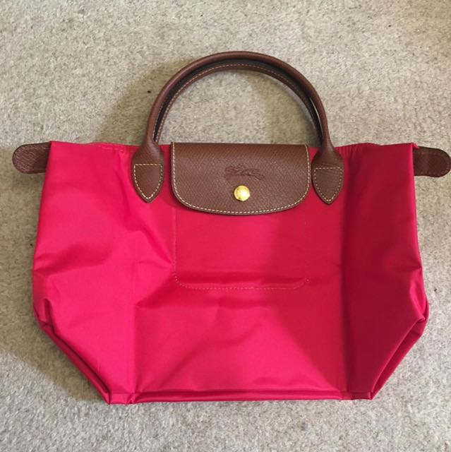 Authentic Longchamp SSH (Red Garance)