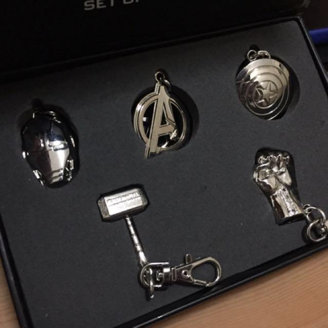 Avengers Key Chains