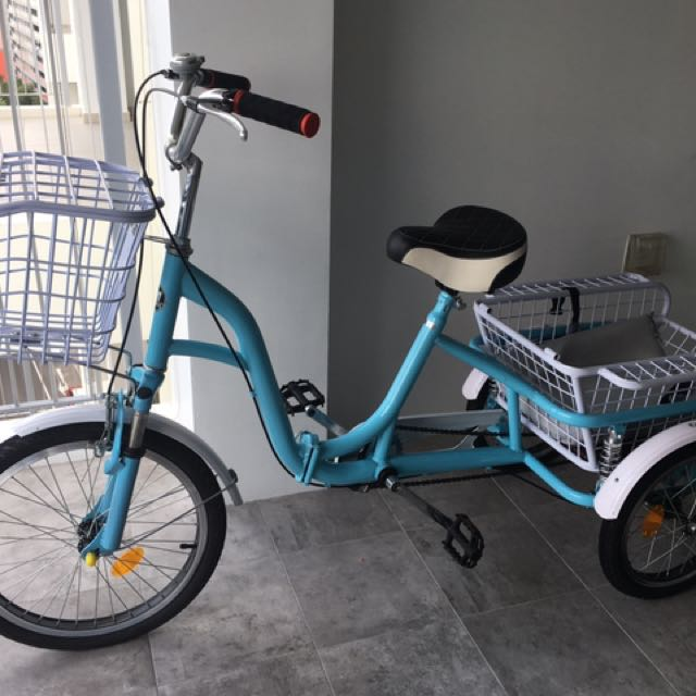 Beautiful Blue Adult Tricycle For Sale, Bicycles & PMDs