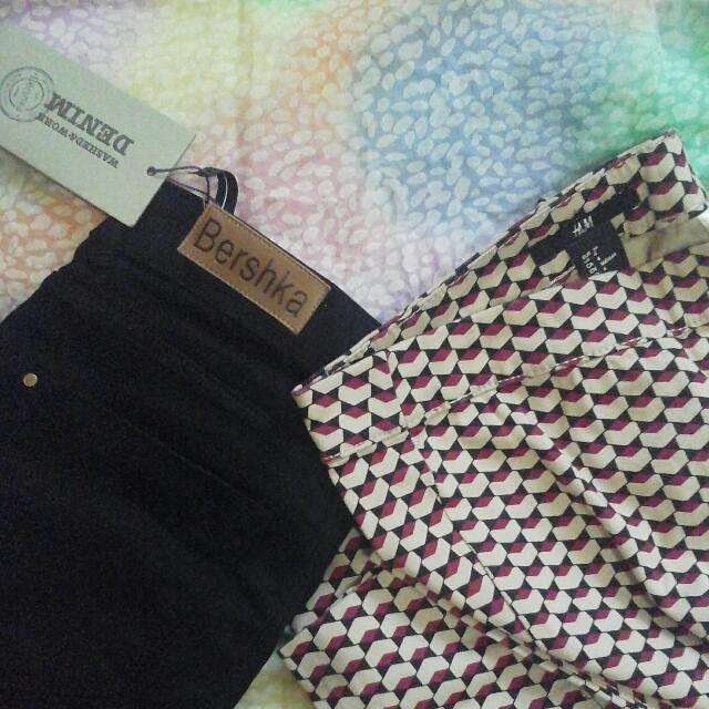 Bershka & H&M Pants