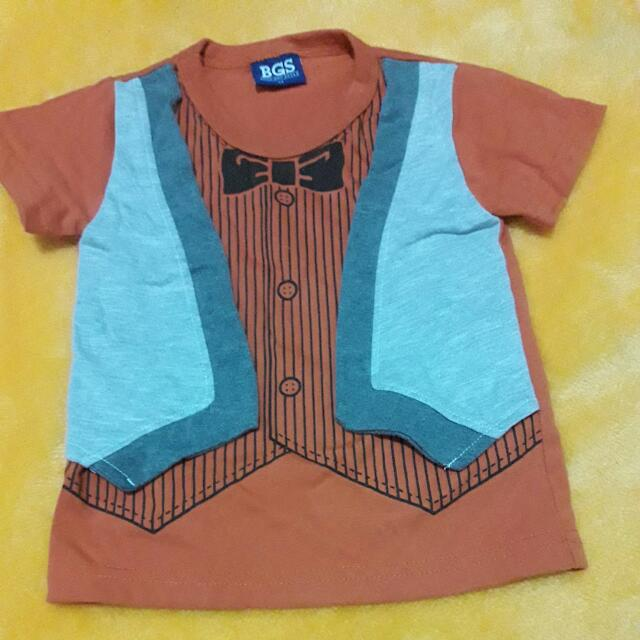 BGS shirt for boy 2T on tag