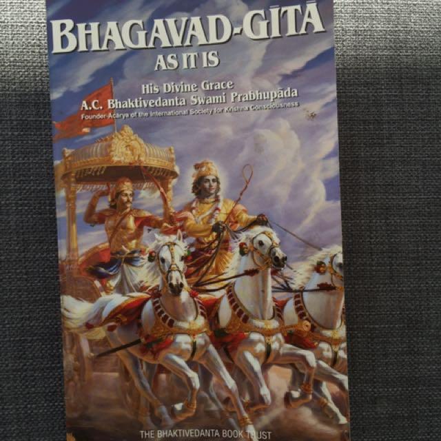 Bhagavad Gita Krishna Consciousness