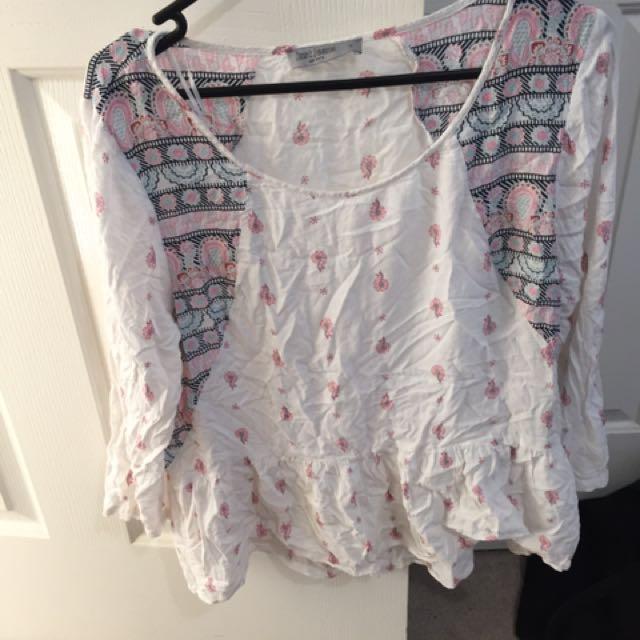 Boho Shirt (just Jeans)