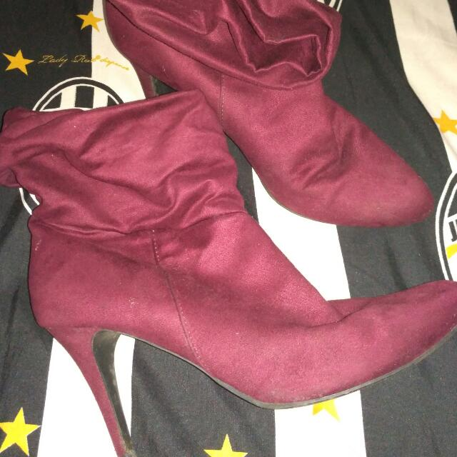 boots red payless