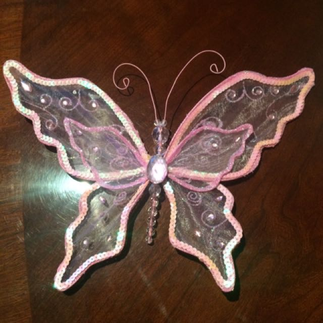 Butterfly Decoration. 30x20cms
