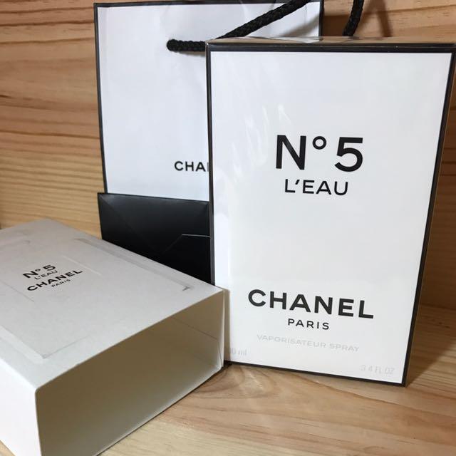 Chanel No5  LEAU 清新陳露淡香水