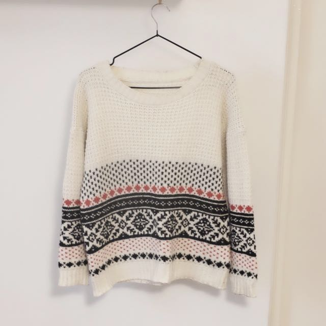 Classic Winter Knit Jumper