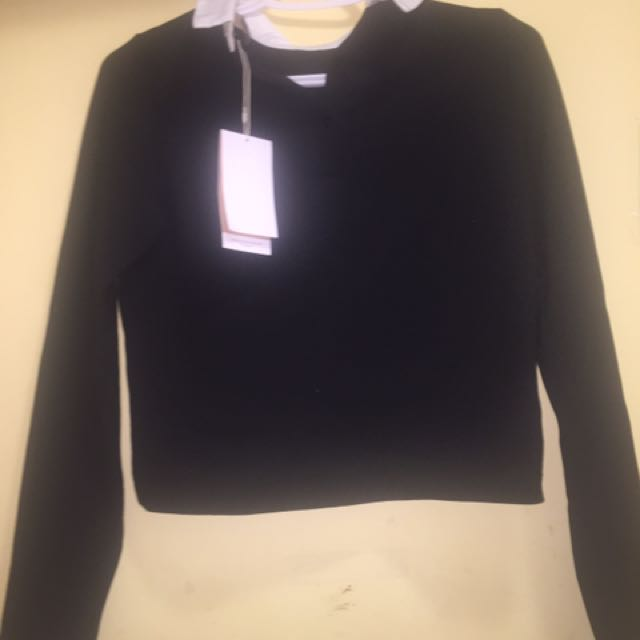 Zara Collared Top
