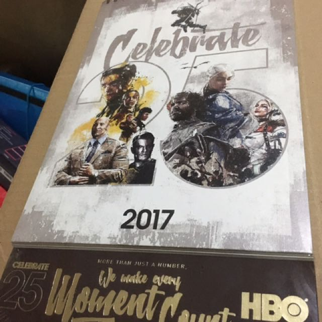 Collector's Item: HBO Game Of Thrones 2017 Calendar