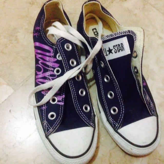 Converse All Star Low Cut Blue Ribbon