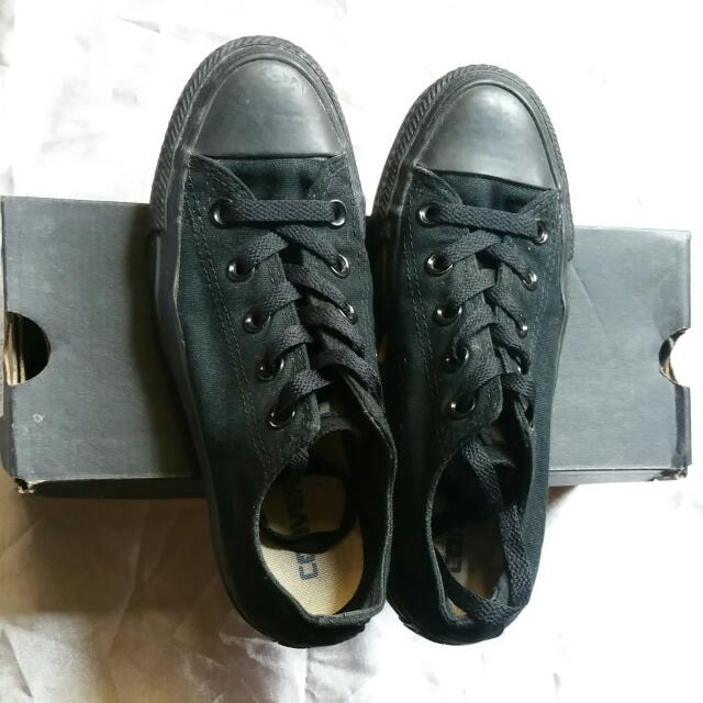converse blk monochrome 100 % authentic
