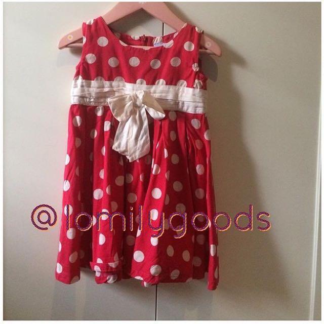Cotempo Kids Polkadot Dress