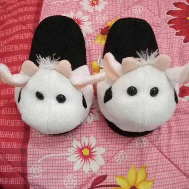Cow Slipper