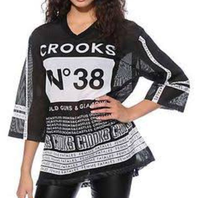 CROOKS & CASTLES TOP
