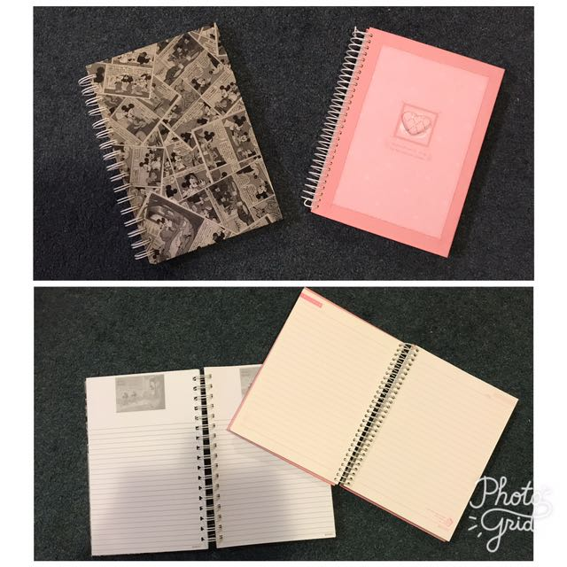 Cute Binded Hardcover Notebook