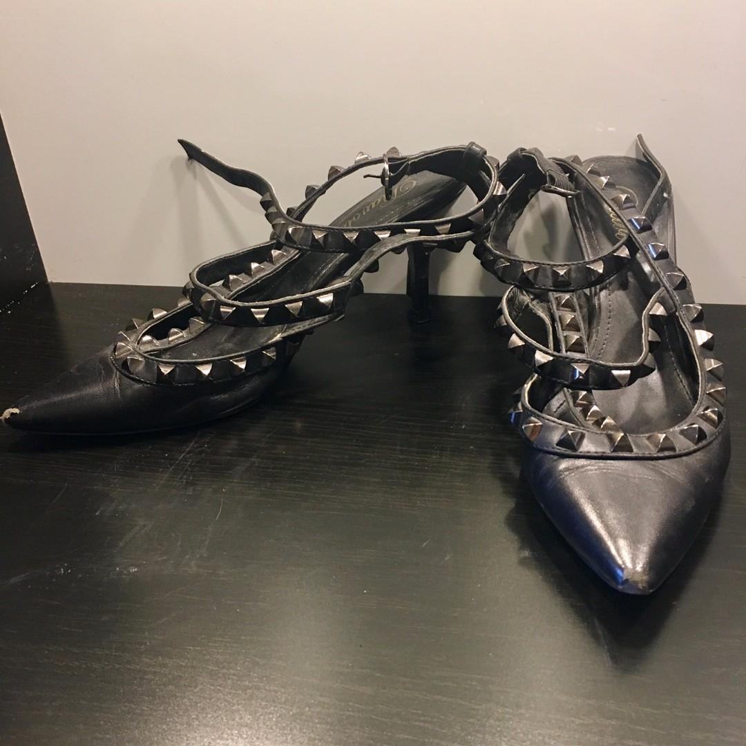 DIAVOLINA Black Heels