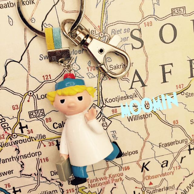 DIY [一起旅行]嚕嚕米迪琪鑰匙圈吊飾 Ticky