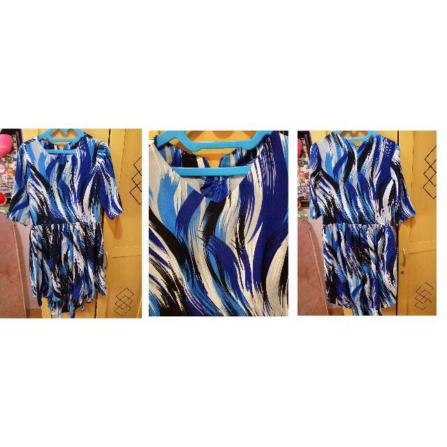 Dress Biru Fit XL