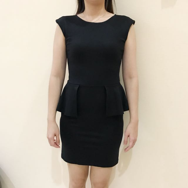 Dress Hitam Black Dress