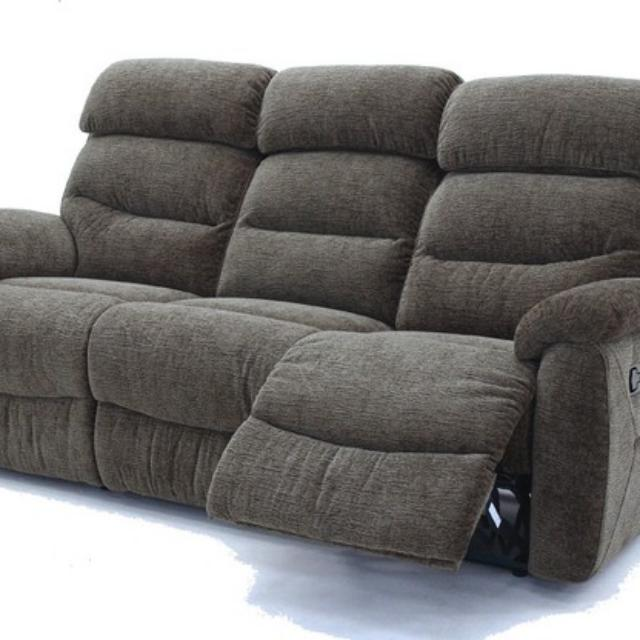 Courts 3rr Fabric Recliner Sofa