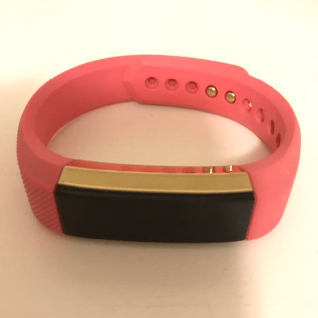 Fitbit alta - Gold Plated Special Edition