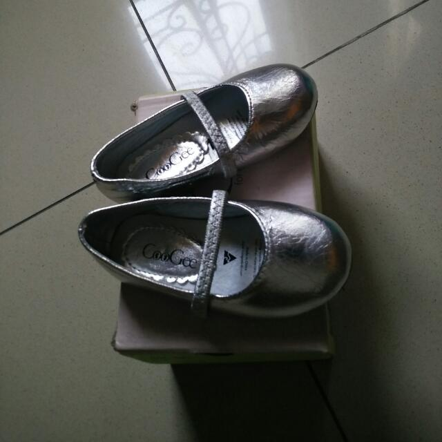 Flat Shoes CooGee Silver