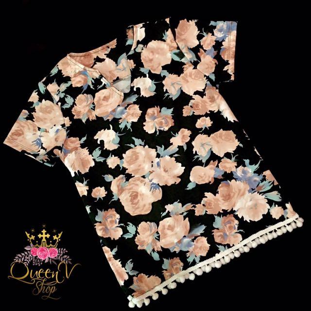 Floral Shirt (S-M)