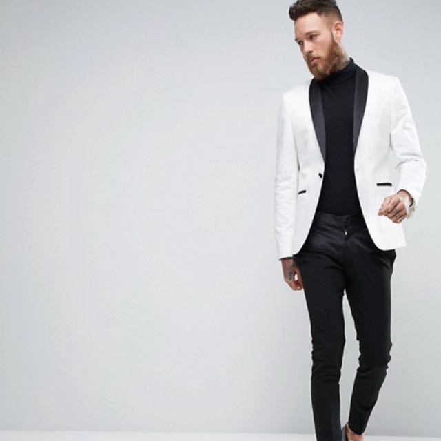Genuine White ASOS Tux