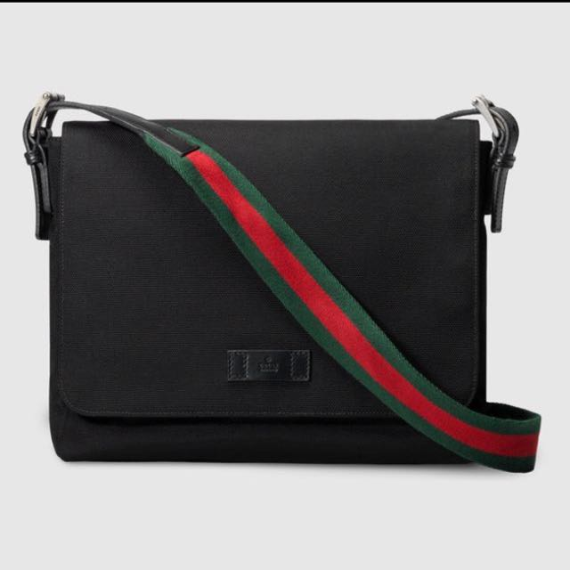 f3f19219e Gucci Men's Techno Canvas messenger bag, Men's Fashion, Bags & Wallets on  Carousell