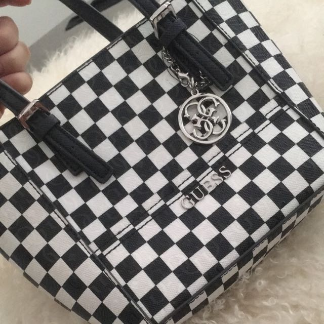 Guess Checkered Bag