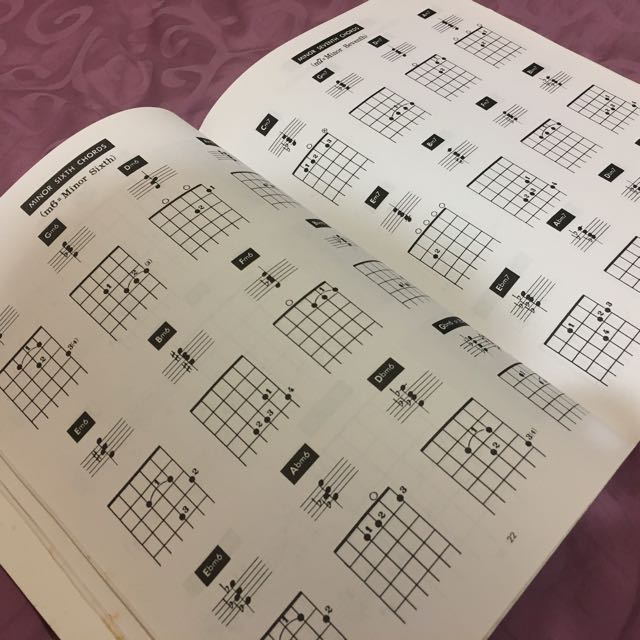 Guitar Chords and Scales Book, Books & Stationery, Books on Carousell