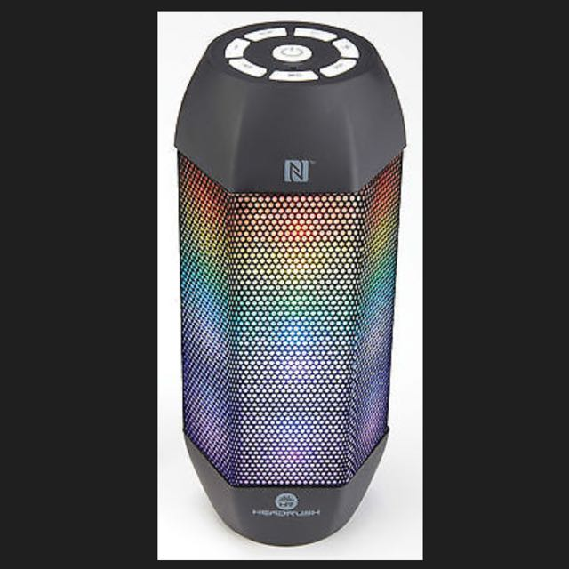 HeadRush Bluetooth & NFC Speaker with LED Light Show - Flash - paypal, no pickup
