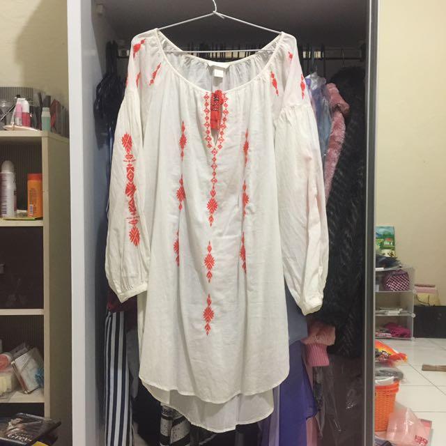 H&m Long Dress (sama Kaya Rachel Vennya)