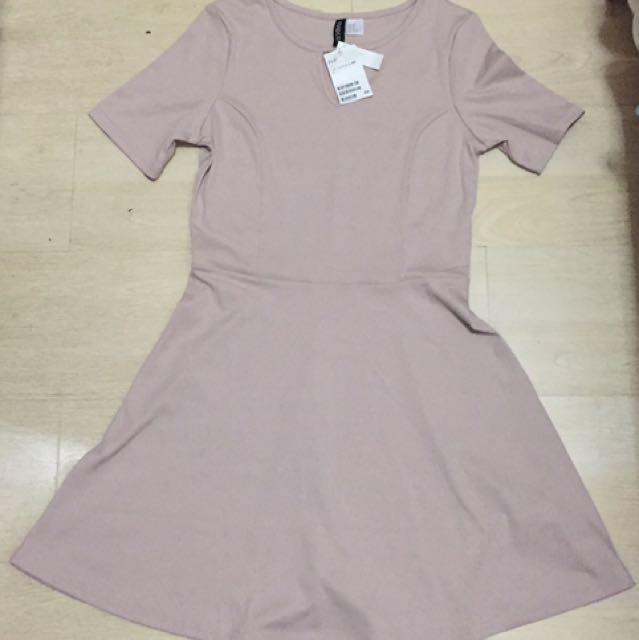 H&M Pale Pink Dress