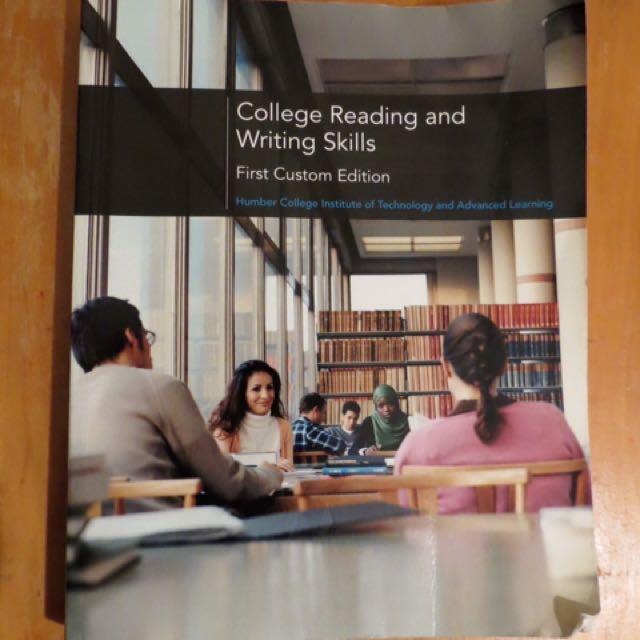 Humber College WRITT 100: Reading And Writing Skills Textbook
