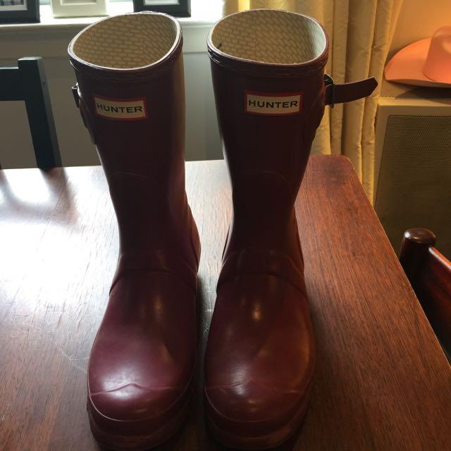 Hunter Original Short Rainboots