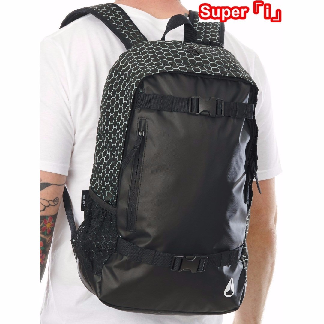 「i」【預購】Nixon Smith II 21L 黑色 高機能性 多功能 筆電包 後背包 登山包 滑板包
