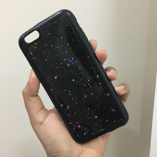 iPhone 6/6s Case - Black Glitter