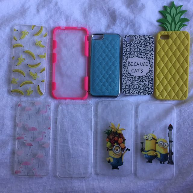 iPhone case assortment