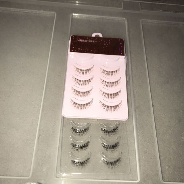 Japanese Fake False Eyelashes