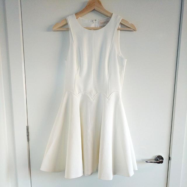 Keepsake The Label White Skater Dress
