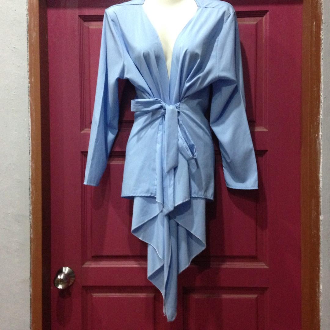Kimono Wrap Blue